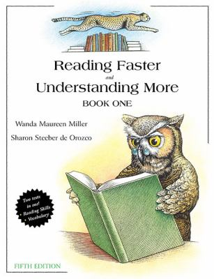Reading faster and understanding more