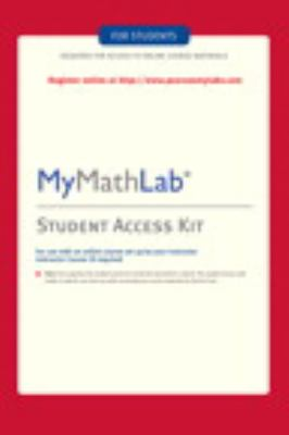 MyMathLab: Student Stand Alone Access Kit-9780321199911-4-Pearson-Pearson